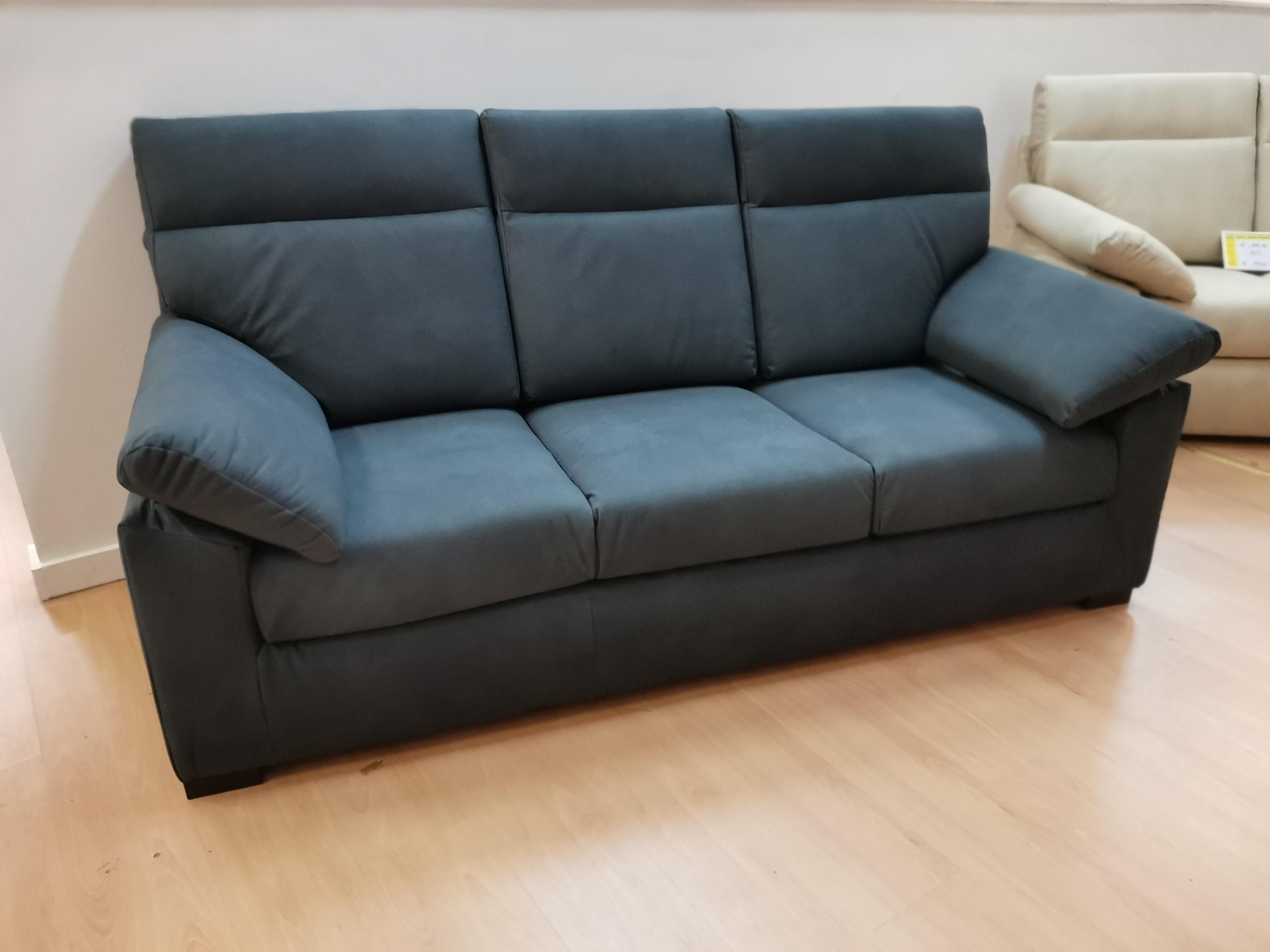 divano amalia 3 posti nero