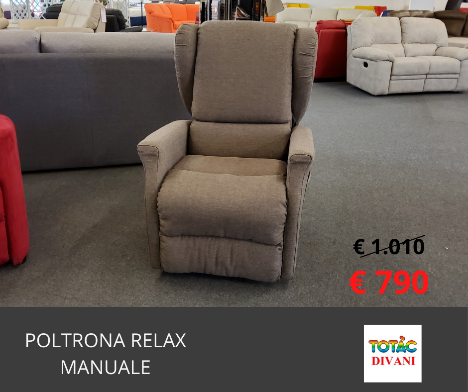 BERGERE POLTRONA RELAX MANUALE