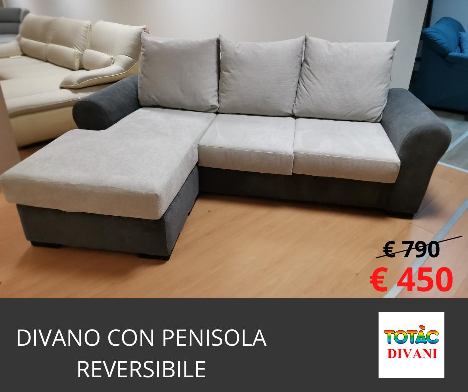 divano con penisola reversibile jerry